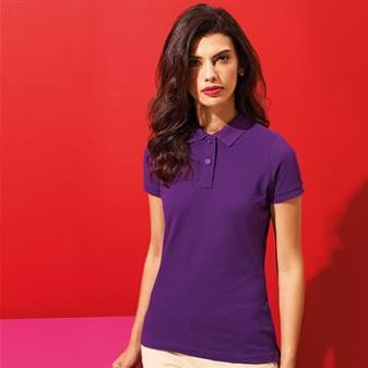 AQ020 Women's Polo Purple