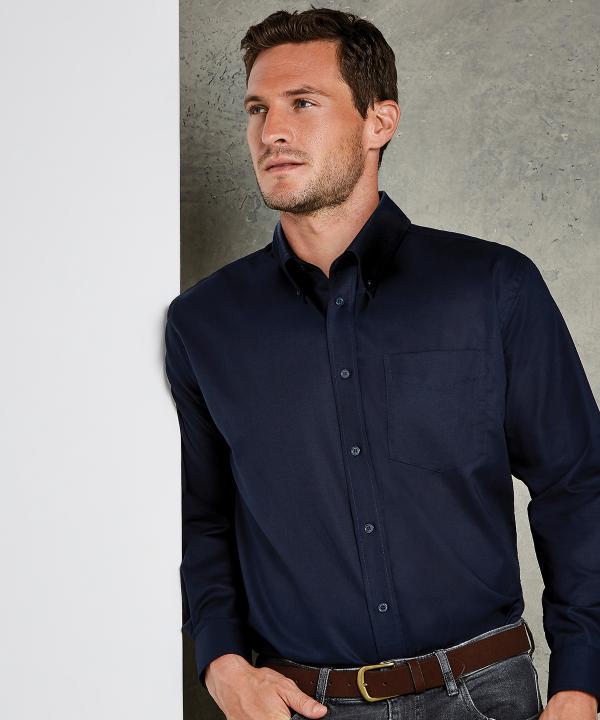 KK351 Mens Oxford Shirt - Black