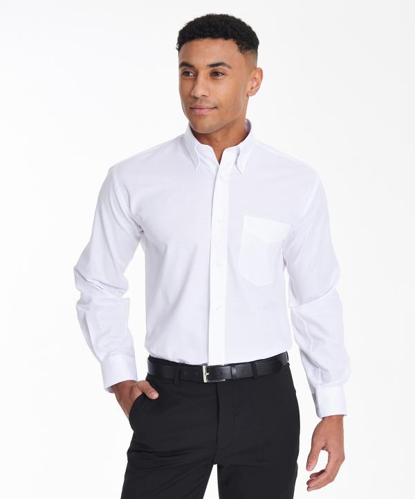 KK351 Mens Oxford Shirt - White