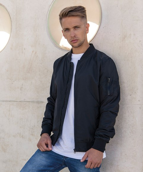 BY045 Mens Bomber Jacket